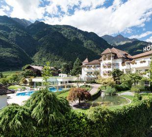 Hotelgelände Hotel Hanswirt