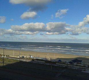 Der Ausblick vom Hotelzimmer Center Parcs Park Zandvoort Strandhotel