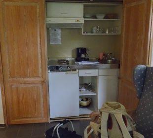 Küchenzeile im Appartment Dorint Sporthotel Garmisch-Partenkirchen