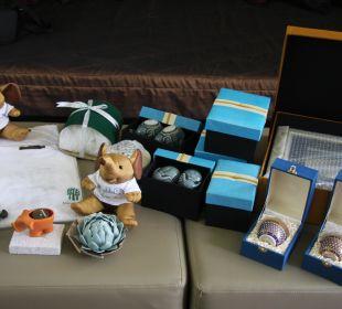 Geschenke vom Hotel Hotel Banyan Tree Phuket