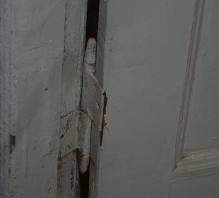 Tür zum Zimmer  Hotel Pension Spree