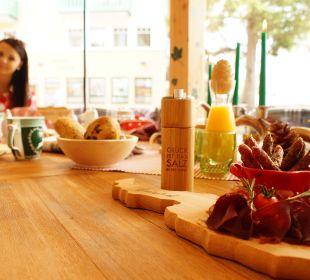 Frühstück im Wintergarten Vital Hotel Zum Ritter