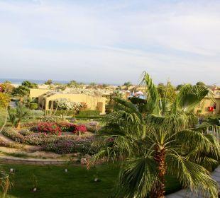 Blick vom Balkon Three Corners Fayrouz Plaza Beach Resort