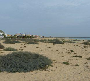 Kleiner Strandzugang nahe Hotel Hotel Pousada da Luz