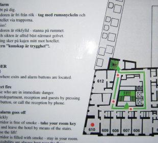 6th floor First Hotel Reisen