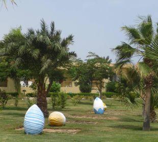 Gepflegte Grünanlagen Three Corners Fayrouz Plaza Beach Resort