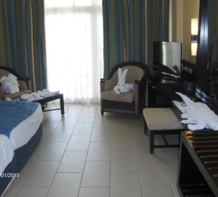 Our mini zoo Hotel Reef Oasis Blue Bay