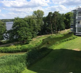 Blick vom Hotelzimmer  Kongresshotel Potsdam am Templiner See