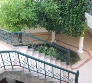 Vorhof zum Zimmer Club Aldiana Side