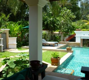 Herrlicher Garten Hotel Banyan Tree Phuket