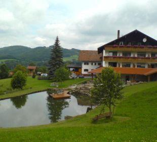 Seitenanasicht Gästhaus