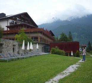 Rückseite des Hotels Hotel Mohr Life Resort