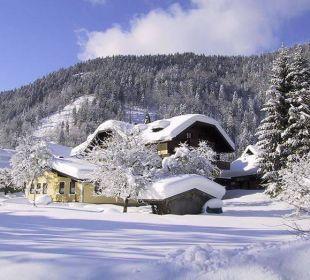 Gasthof Hintersee im Winter Ebner's Wohlfühlhotel Gasthof Hintersee