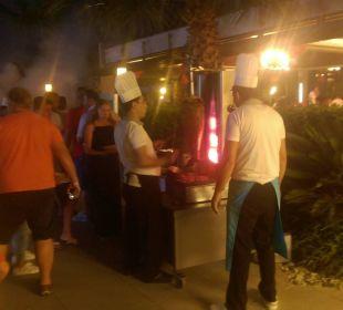 Grillen  Sunis Elita Beach Resort