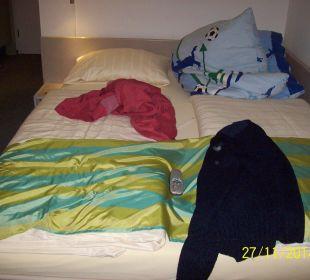 Bett Hotel Garni Körschtal