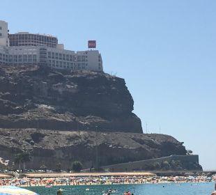 Hotel vom Strand aus ClubHotel Riu Vistamar