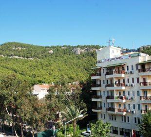 Blick vom Balkon Orient Hotels Roxy Resort