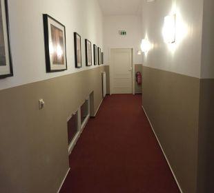 Hotelflur Hotel Wyndham Garden Quedlinburg Stadtschloss
