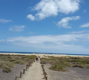 Weg zum Strand Hotel Barceló Jandia Club Premium
