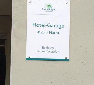 Parkhausgebühr Familotel Hotel Sonnenhügel