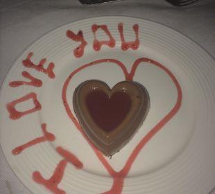 Dessert Romantic Dinner Now Larimar Punta Cana