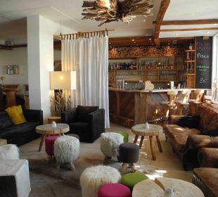 Lobby und Bar Hubertus Alpin Lodge & Spa