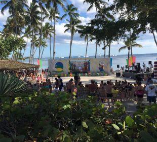 Osterfeier am Strand Dreams La Romana Resort & Spa