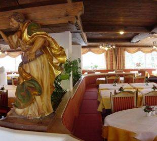 Der Speisesaal Hotel Steineggerhof