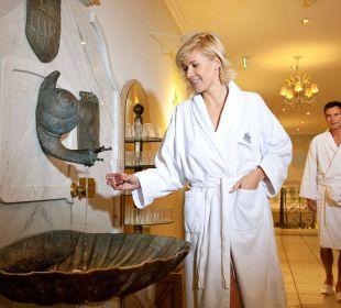 Gasteiner Thermalwasser Brunnen Grand Park Hotel Health & Spa