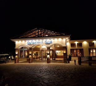 Eingang Anthemus Sea Beach Hotel & Spa