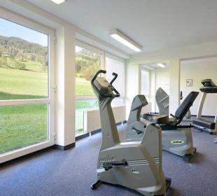 Fitnessraum - damit Sie in Bewegung bleiben Die Gams Hotel - Resort