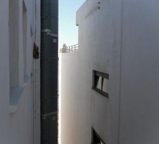 Blick aus dem Einzelzimmer