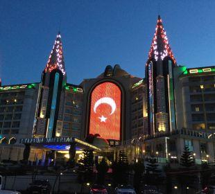 WOW ganz neue Lichtreklame Hotel Delphin Imperial