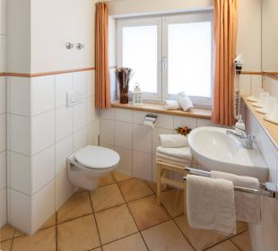 Badezimmer-Beispiel Oberstdorfer Ferienwelt