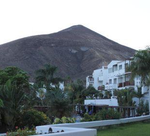 Blick vom Zimmer zum Berg Fuerteventura Princess