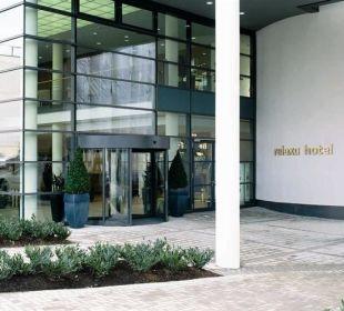 Hoteleingang Relexa Hotel Ratingen City