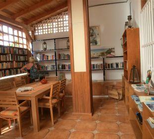 Hinter d. Lobby, Bibliothek und Leseraum Suitehotel Monte Marina Playa