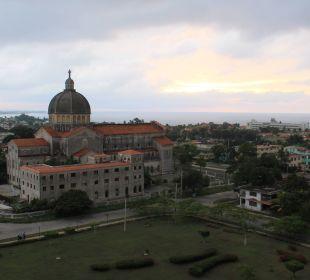 Blick vom Balkon Hotel Quinta Avenida Habana