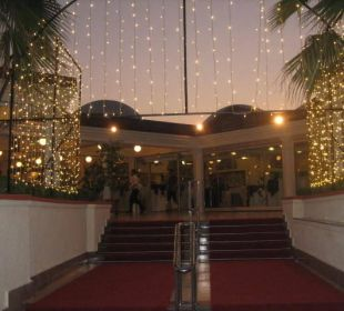 Treppe und Aufgang zum Retaurant Club Aldiana Side