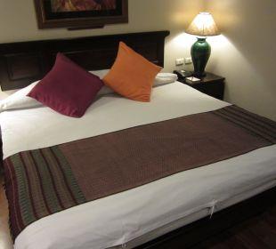 Bett war okay Hotel Siam Heritage