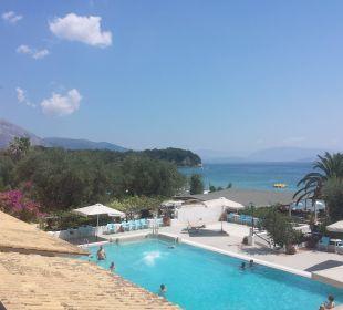 Aug 16 - Ausblick Hotelzimmer Tag Hotel Elea Beach