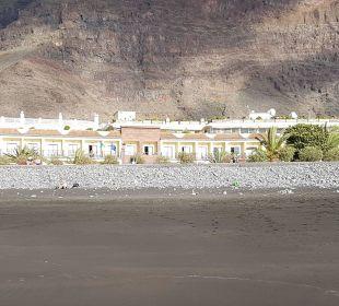 Blick vom Strand auf's Gran Rey Hotel Gran Rey