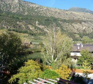 Vom Balkon Richtung Sonnenberg