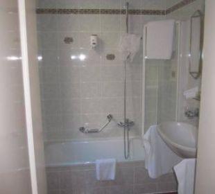 Nicht optimal zum Duschen Hotel Erzherzog Rainer