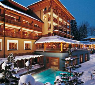 Hotel mit Außenpool Hotel Montafoner Hof