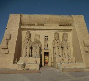 Die geschichte Ägyptens in der Anlage augestellt
