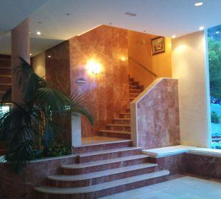 Treppe zum Gourmet Restaurant Hotel Don Antonio