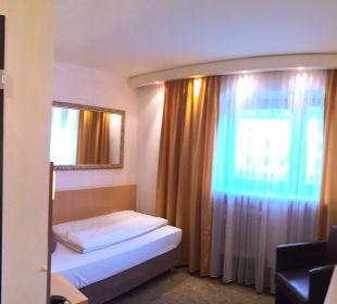 Gästezimmer Typ standard City Hotel Ost am Kö Augsburg