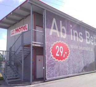 Das Motel von aussen  FairSleep Avia Motel Gmünd Mitte