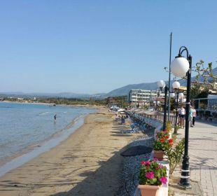 Strand direkt am Corissia Park Hotel Corissia Beach